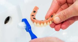 cleaning-dentures-orange-county